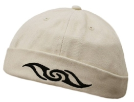 Dockercap COCO-Cap von ChillOuts ® in natur mit Tribal -