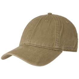 Ducor Sun Guard Basecap Stetson Baseballcap Fullcap (M/56-57 - oliv) -