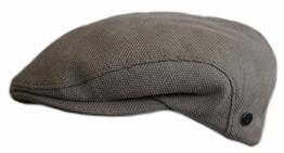 Edles Flatcap von Bugatti Beige 62 -