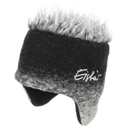 Eisbär Alpencocker Skimütze marmoriert Eisbär (One Size - schwarz) -