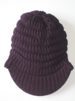 Eisbär Damen Cap Flair Cap, aubergine, 323258 -