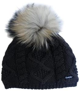Eisbär Damen Mütze Mirella für MÜ, Dunkelbraun, One size, 408013 -