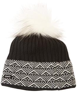 Eisbär Damen Mütze Mona Lux, Schwarz, One Size, 403231 -