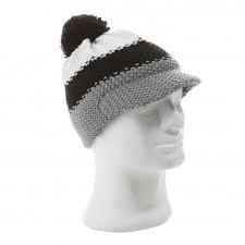 Eisbär Mütze Bommelmütze Star Cap Pompom SP grau/schwarz/weiß -