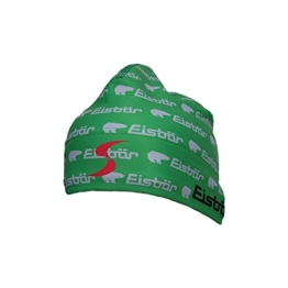 Eisbär Print MÜ Mütze, Größe:Einheitsgröße;Farbe:Grün -