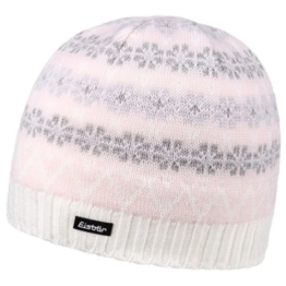 Eisbär Snowflakes Skimütze Strickmütze Damenmütze Strickmütze (One Size - rosa) -
