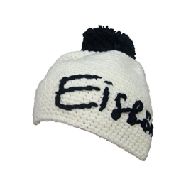 Eisbär Til Pompon Winter Mütze mit Bommel, Größe:One Size;Farbe:weiss-schwarz -