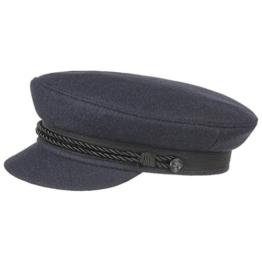 Elbsegler Schiffsmütze Schildmütze Mütze (56 cm - blau) -