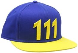 Fallout 4 Snapback Cap Vault 111, gelb -