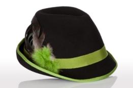 Faustmann Hüte & Mützen Trachten Damen Hut - FEDER - hellgrün Größe 54 -