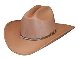 """Formstabiler Fauxfelt-Hut, Westernhut, Cowboyhut """"Scott"""" (58) -"""