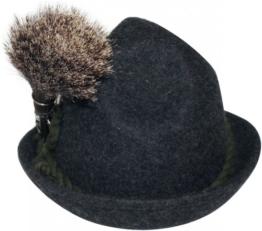 Gamsbart mit Hülse ohne Trachten-Hut Trachtenhut Jagd Jäger Gemse Gams Gämse -