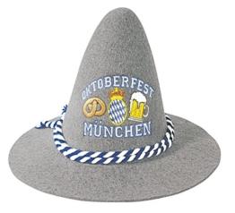 Gaudi-Hut Sepplhut mit Einstickung - Oktoberfest München - 51499 -
