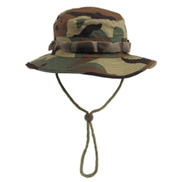 GI Boonie Hat, US Buschhut woodland S - XL Gr. L (Kopfumfang 58-59cm) -