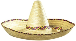 Giant Sombrero Decorated 65cm Mexican Hats Caps and Headwear for Fancy Dress Costumes Accessory -