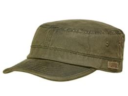 Göttmann Charvis Army Cap Baseballmütze aus Baumwolle - dunkelgrau 58 -