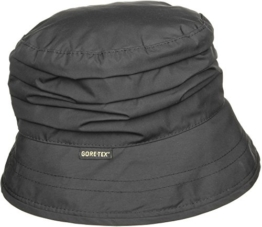 Gore-Tex Regenhut mit Fleece by Seeberger (58 cm - schwarz) -