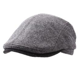 Gottmann - Flatcap Herren Belvedere 2 - Size 58 cm - gris-fonce -