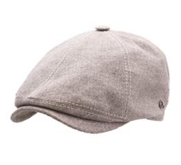 Gottmann - Flatcap Herren Memphis-677 - Size 57 cm - beige-32 -