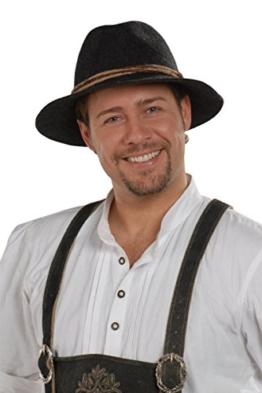 Herren Faustmann Hüte Tiroler Hut anthrazit 'Willi', anthrazit, 62 -