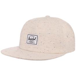 Herschel Albert Speckled Strapback Cap Basecap Baseballcap Kappe Baumwollcap Flat Brim Flatbrim Cap Basecap (One Size - hellbeige) -