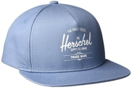 Herschel Supply Co. Stone Blue Whaler Snapback Cap -