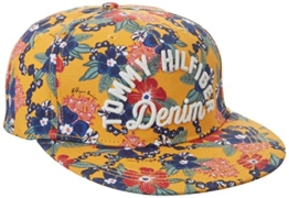 Hilfiger Denim Damen Baseball Thdw Cap 12, Mehrfarbig (Pinto Print/Marigold 901), X-Large (Herstellergröße: L-XL) -