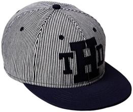 Hilfiger Denim Herren Baseball Cap 3 Hics, Mehrfarbig-Multicolore (Hickory Stripe), One size -