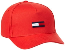 Hilfiger Denim Herren Baseball Thdm Flag Cap 11, Rot (High Risk Red 662), One size (Herstellergröße: OS) -