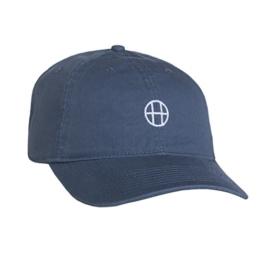 Huf Apparel Cap Circle H Curved Brim Slate -