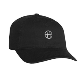 Huf Apparel Cap Circle H Curved Brim Black -