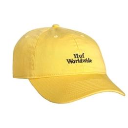 Huf Cap Worldwide Curved Yellow -