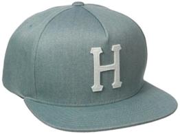 HUF Denim Classic H Snapback Blue O/S -