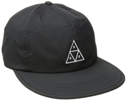 HUF Herren Caps / Snapback Cap Formless Triple Triangle schwarz Verstellbar -