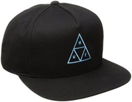 HUF Herren Caps / Snapback Cap Triple Triangle schwarz Adjustable -