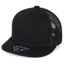 ililily Mesh Trucker New Era Style Snapback Toddler Baby Kids Hat Baseball Cap (ballcap-1449-5) -