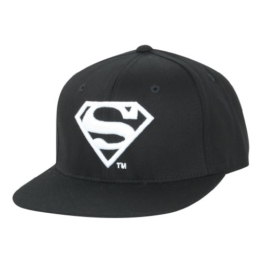 ililily Superman Shield Embroidery New era with Adjustable Strap Trucker Hut (ballcap-621-3) -