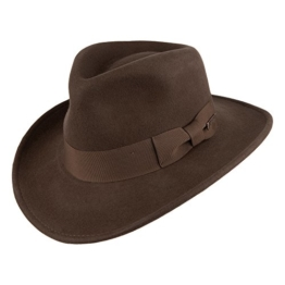 Indiana Jones Promotion Fedora Hut - Braun - M -