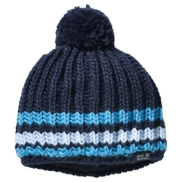 Jack Wolfskin Bommelmütze blau M -