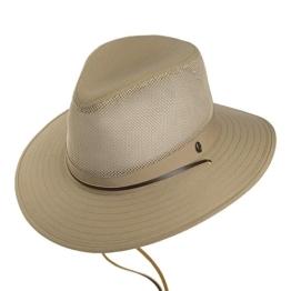 Jaxon & James Atmungsaktiver Aussie Cowboyhut - Khaki - XL -