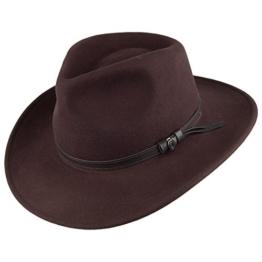 Jaxon & James Knautschbarer Outback Cowboyhut - Braun - XXL -