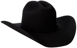 Justin Hats 3X RODEO BLACK Herren Cowboy Hut -