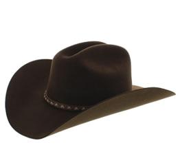 Justin Hats JF0242 2X PLAINS Herren Cowboyhut -
