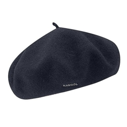 Kangol Anglobasque Baskenmütze - Marineblau - XL -