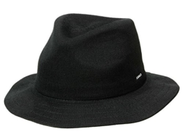 Kangol Baron Travellerhut Traveller - black M/56-57 -
