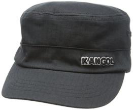 Kangol Headwear Herren Baseball Cap Ripstop Army,, Gr. Large,Schwarz (Black) -