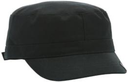 Kangol Headwear Herren, Baseball Cap, Cotton ADJ Army Cap, Schwarz, Small (Herstellergröße:S/M) -