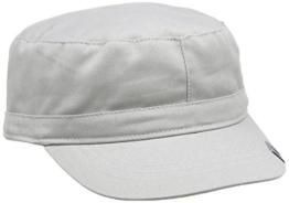 Kangol Headwear Unisex Baseball Cap Cotton Adjustable Army cap, Gr. Large (Herstellergröße:Large/X-Large), Grau -