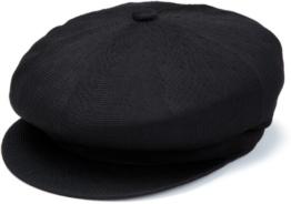 Kangol Herren  Baskenmütze Gr. L, nero (Black) -