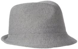 Kangol Herren Filzhüte Cotton Rib Arnold Grau, Medium -